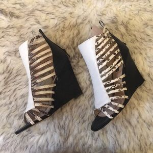 Gorgeous wedge heels